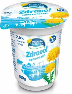 KISELO MLEKO ZDRAVO 2,8% 180G CASA