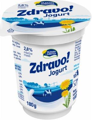 JOGURT ZDRAVO 2,8%MM 180G CASA