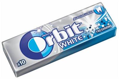 ZVAKE WHITE FRESHMINT 14G ORBIT
