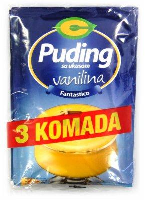 PUDING VANILA 3/1 120G C