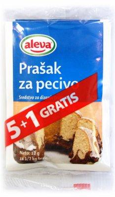 PRASAK ZA PECIVO 12G 5+1 GRATIS ALEVA