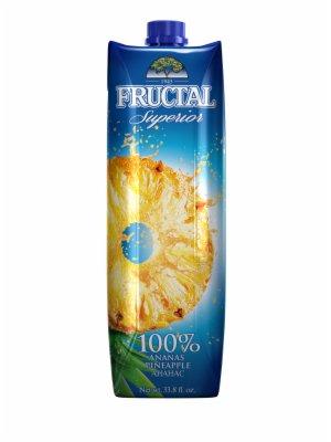 SOK PREMIUM ANANAS 100% 1L FRUCTAL