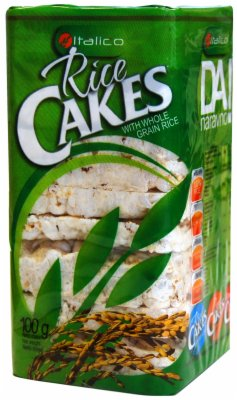 GALETE RICE CAKES INTEGRALNI 100G ITALIC