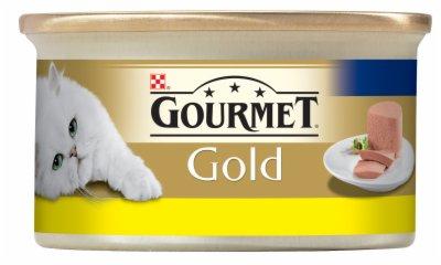 HRANA ZA MACE PASTETA PILETINA 85G GOLD