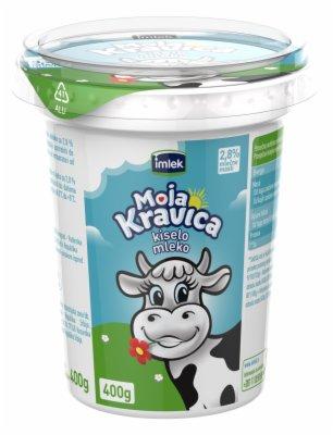 KISELO MLEKO MOJA KRAVICA  2,8%  400G CA