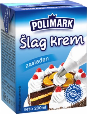 SLAG KREM 200ML POLIMARK