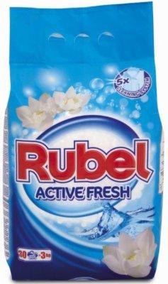 DET.ZA VES ACTIVE FRESH 3KG RUBEL