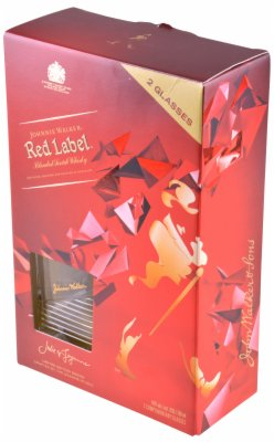 WHISKY RED GIFT 2 CASE  0,7L