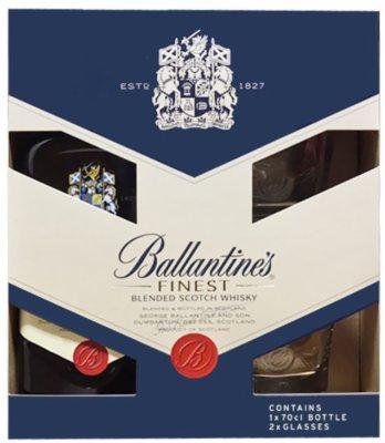 WHISKY BALLANTINES 0.7L+2 CASE