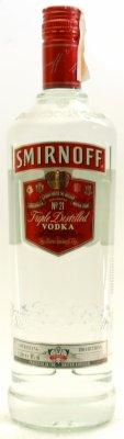 VODKA SMIRNOFF RED 1L.