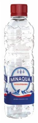 VODA MINAQUA NEGAZIRANA  0,33L  PET