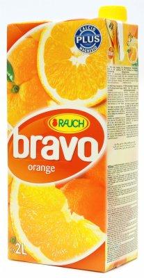 SOK BRAVO ORANGE 2L.BRIK RAUCH