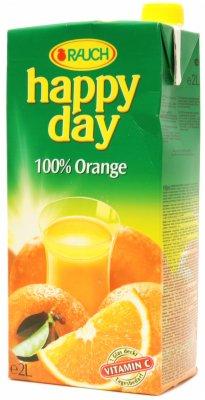 SOK HAPPY DAY ORANGE 100% 2L RAUCH