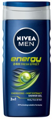 TUS GEL MEN ENERGY 250ML NIVEA