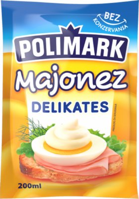 MAJONEZ DELIKATES 200ML POLIMARK
