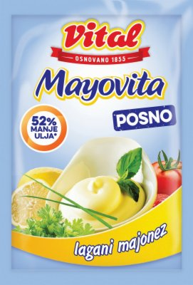 MAJONEZ MAYOVITA LIGHT 90G VITAL