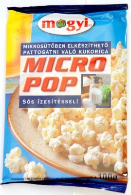 KOKICE MICRO POP CORN SLANE 100G MOGYI