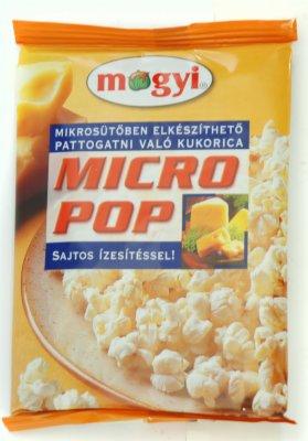 KOKICE MICRO POP CORN SIR 100G MOGYI