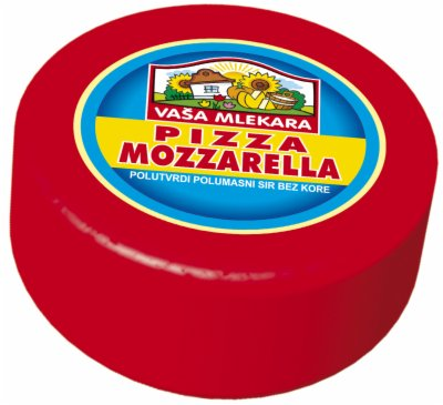 SIR PIZZA MOZZARELA 45%MM VASA MLEKARA