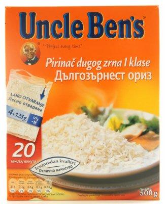 PIRINAC UNCLE BENS 500GR(4x125GR)