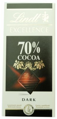 COK.EXCELLENCE DARK 70% 100G LINDT