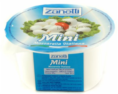 SIR MINI MOZZARELLA125G ZANETTI