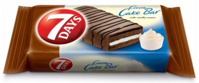 CAKE BAR COCOA VANILA 32G 7DAYS