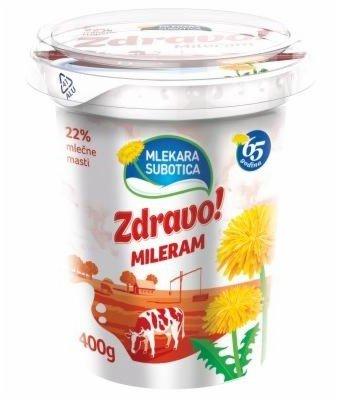 MILERAM ZDRAVO  22% 400G CASA