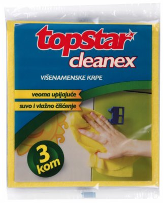 KRPA CLEANEX UNIVERZALNA 3/1 TOP STAR