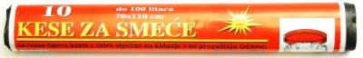 KESE ZA SMECE 100L 70x110CM 10/1 FOKA