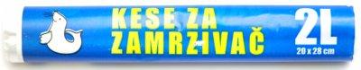 KESE ZA ZAMRZIVAC 20x28 2L FOKA