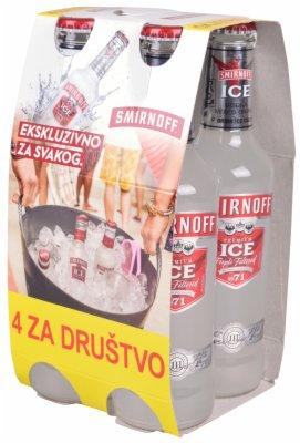 VODKA SMIRNOFF ICE 4PACK 5% ALC. (4X0,27