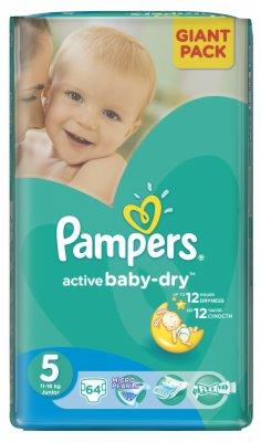 PELENE ZA DECU ACTIVE BABY-DRY GP 5 JUNI