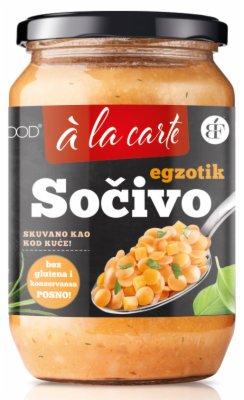 SOCIVO EXOTIC KUVANO TEGLA 700G