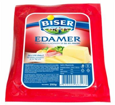 SIR EDAMER 45%MM 250G BISER