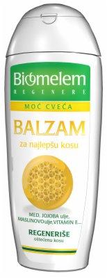 BALZAM ZA KOSU SA MEDOM 222ML BIOMELEM