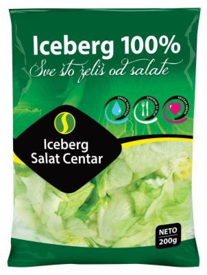 SALATA 100% ICEBERG 200G