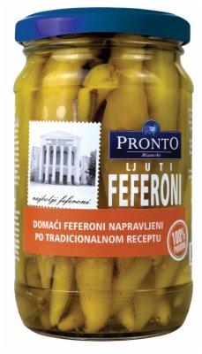 FEFERONI 370ML PRONTO