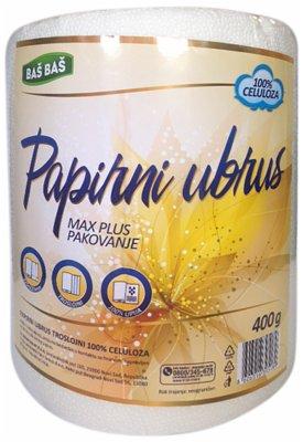 UBRUS PAPIRNI  3SL MAX PLUS 1/1 BAS BAS