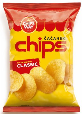 CIPS CLASSIC 150G CHIPS WAY