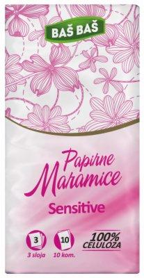 PAPIRNE  MARAMICE 1/1 SENSITIVE BAS BAS